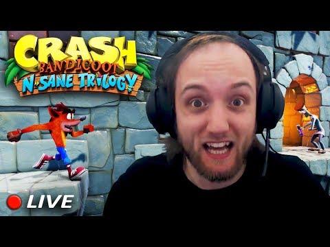 Crash N. Sane Trilogy - LIVE - Pazienza agli sgoccioli