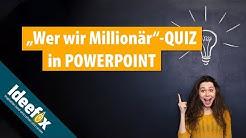 """Powerpoint in Schule und Jugendarbeit - Quiz à la """"Wer wird Millionär"""""""