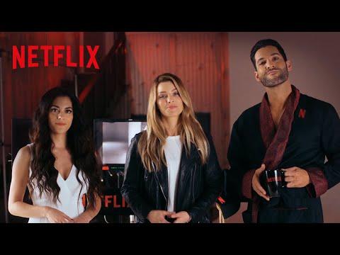 Lucifer na Netflix  Tom Ellis encontra elenco e quase conta spoilers da quarta temporada