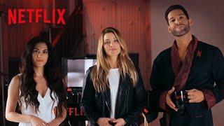 Lucifer na Netflix | Tom Ellis encontra elenco e quase conta spoilers da quarta temporada