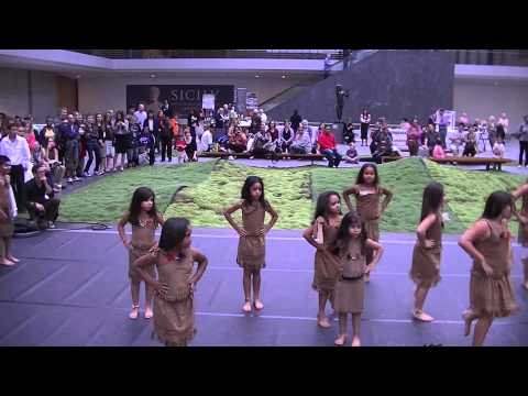 Puerto Rican Dance -- Taino Indians Of The Arawak People