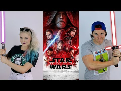 Star Wars: The Last Jedi- Spoiler Free Movie Review ( FEAT. Laura Gilbert)