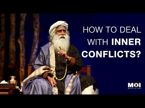 How To Deal With Inner Conflicts? - Sadhguru | Mystics of India | 2018 Mp3