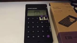 Pocket Operator Pro Case Setup Teenage Engineering
