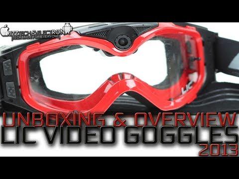 Liquid Image Video Camera Goggles Unboxing | 720P Version - New - 2013