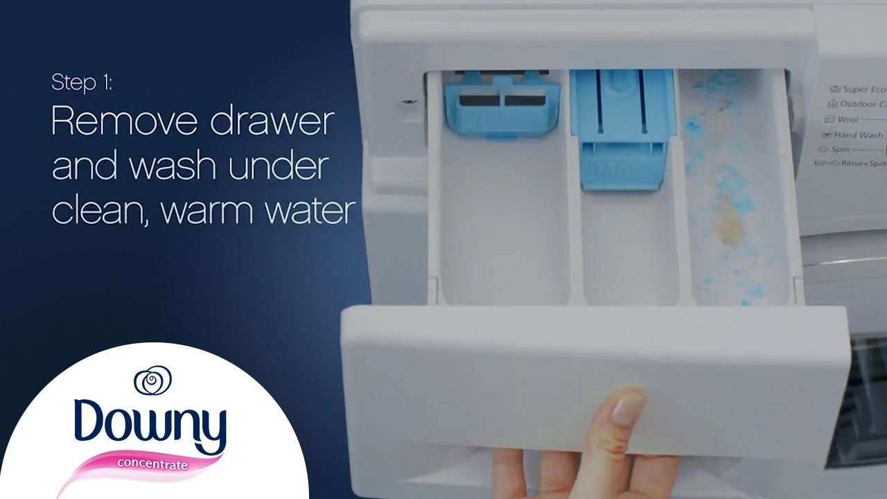 How To Clean Fabric Softener Dispenser - Front Loader ...