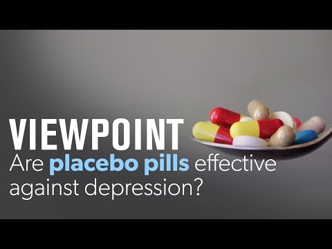 Peter D. Kramer: Are placebo pills effective against depression? | VIEWPOINT