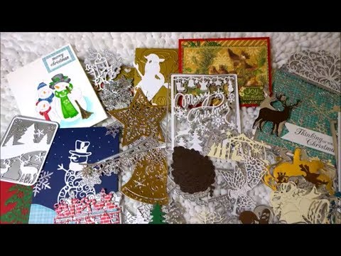 Holiday Metal Die Cut Haul with Examples