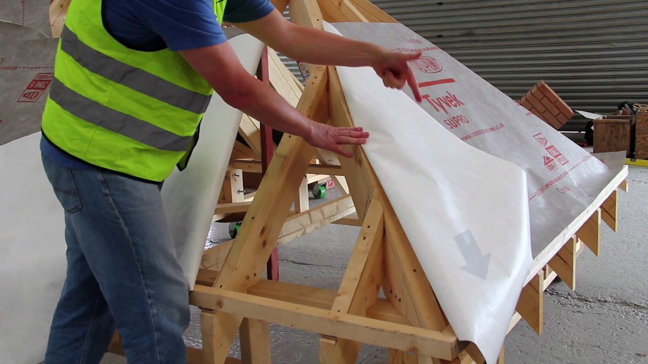 How To Install Roofing Membranes Hip Details Tyvek