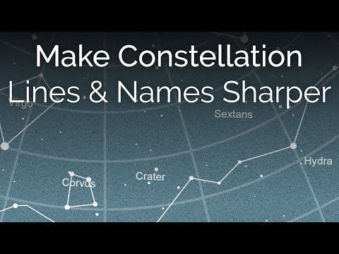 Starmap Poster Creator - Improve Line Sharpness