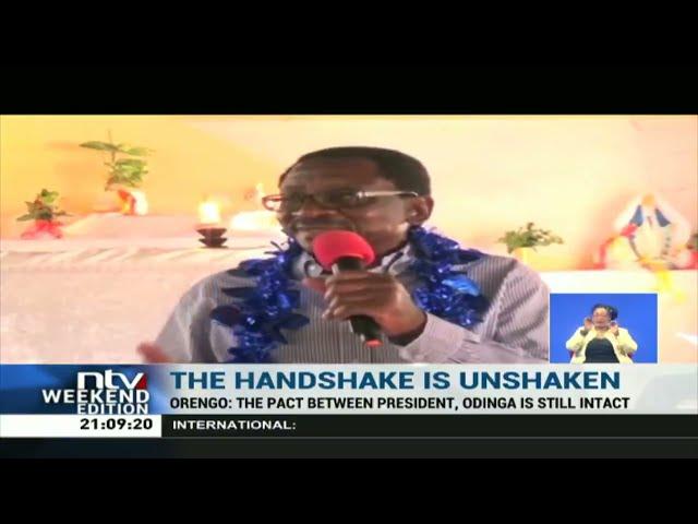 James Orengo dismisses claims 'handshake' is on its deathbed