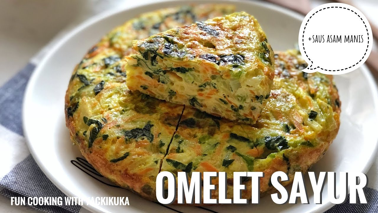 Omelet Sayur Tebal N Enak Vegetables Omelette Fuyunghai Youtube