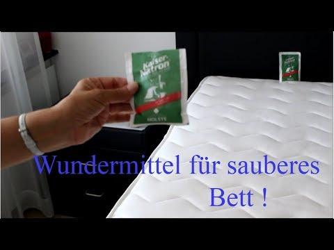 Verteile Natron Auf Dein Bett ! Das Ergebnis Ist Erstaunlich ! - Clean Your Bed With Natron