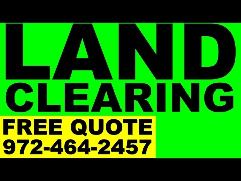 Land Clearing Dallas