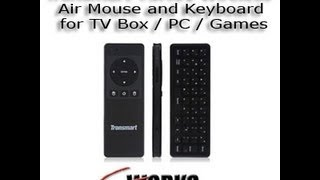 tronsmart tsm01 wireless air mouse and keyboard for tv box pc games