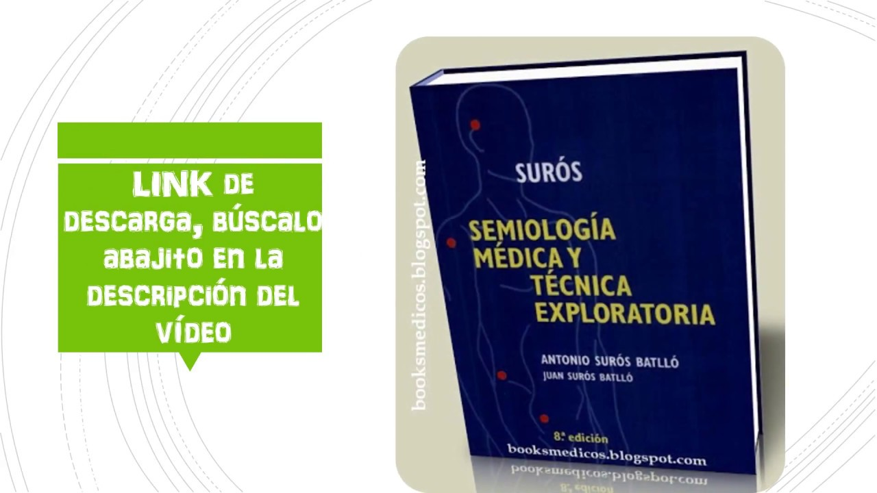Descarga Libro De Semiologia De Suros 8va. Ed En PDF