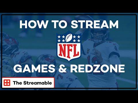 How To Stream NFL Games & NFL RedZone Online