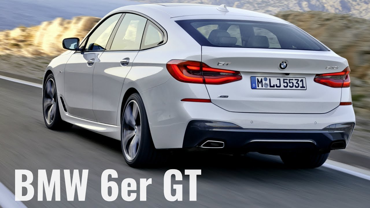 2018 Bmw 6 Series Gran Turismo M Sport Package Dynamic Driving And