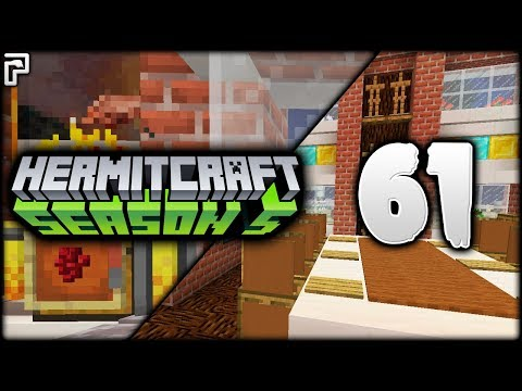 FINISHING THE MANSION ROOMS! | Minecraft Hermitcraft | Let's Play Minecraft Survival [Episode 61]