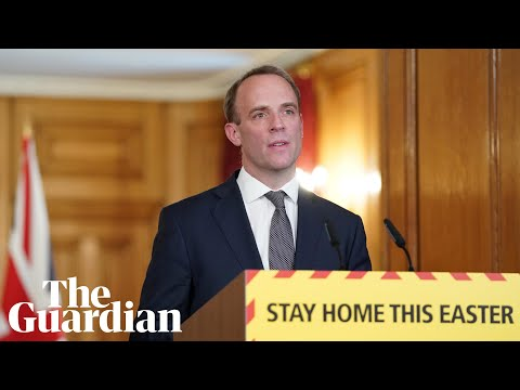 Dominic Raab thanks NHS staff and key workers for Covid-19 response
