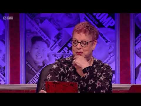 Westminster scandal : Jo Brand explains to all male hignfy panel that all sexual harassment is bad