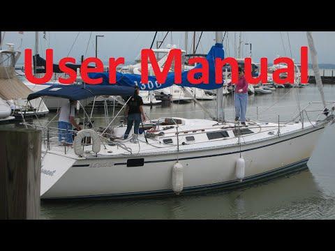 Hunter 40 Legend Sailboat user manual