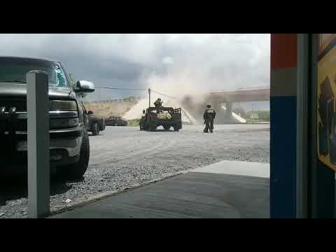 shooting Army vs mexican cartel hitmen