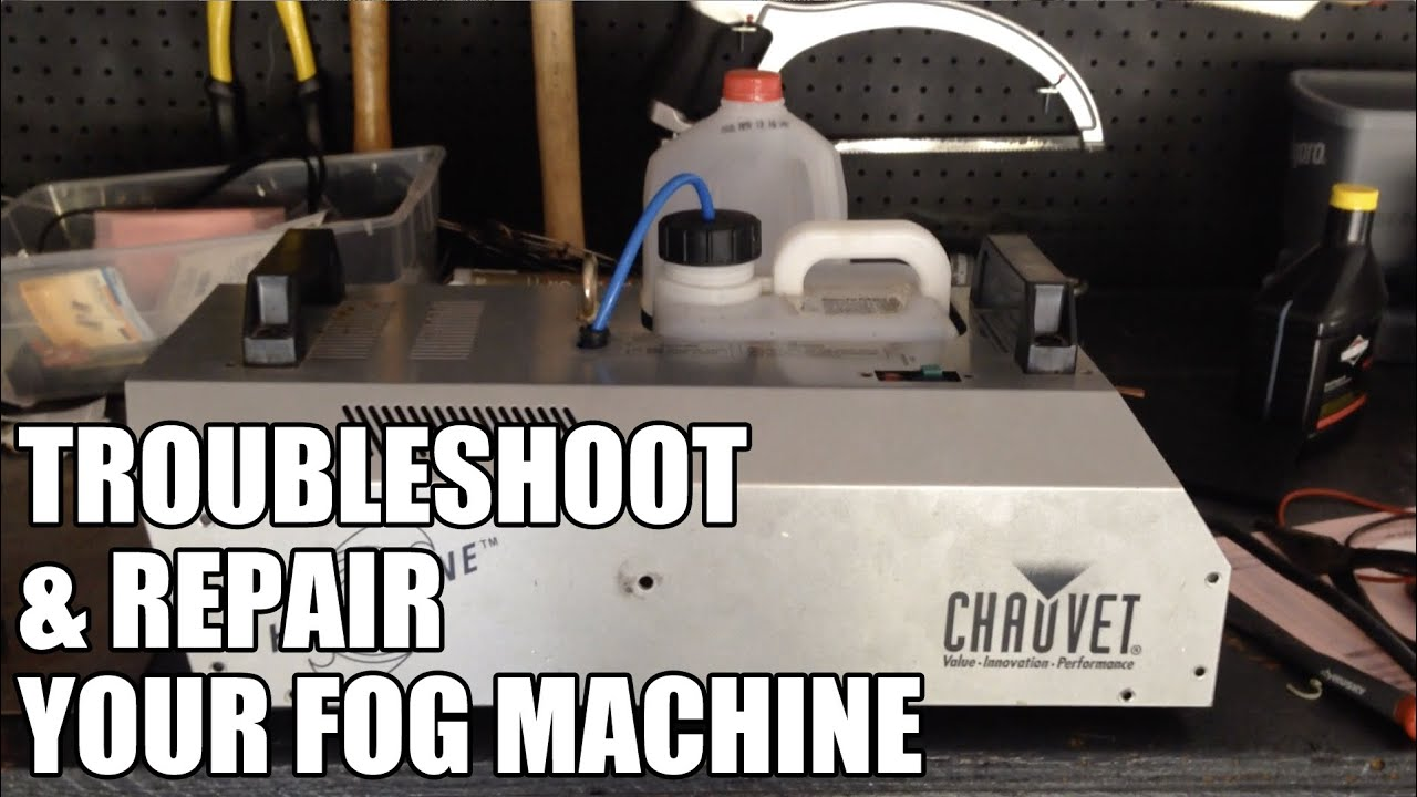 fog machine repair