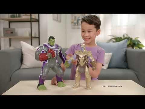 Marvel Avengers Power Punch Hulk - Smyths Toys