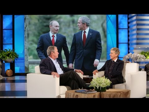 President George W. Bushs Thoughts on Putin and the Press