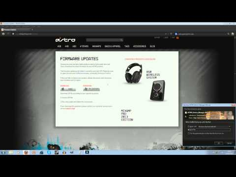 How To Update Astro A40 2013 Mixamp