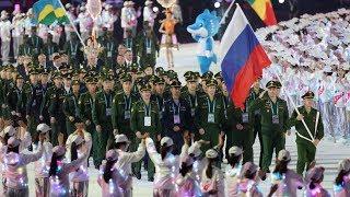 Российская команда отправилась на Военные игры в Китай