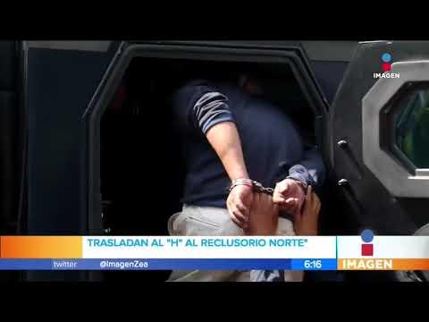 Héctor 'N', alias 'El H', fue trasladado al Reclusorio Norte | Noticias con Francisco Zea