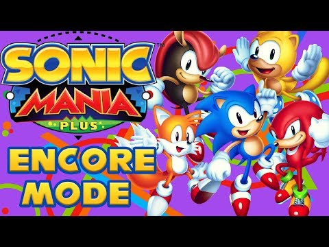 Sonic Mania Plus | Encore Mode Full Game + GIVEAWAY