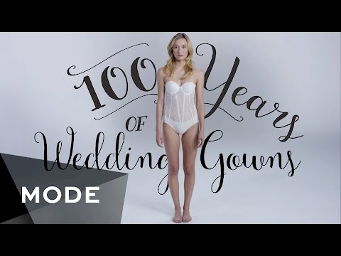 Incredible Trip To The History Of Wedding Dresses!