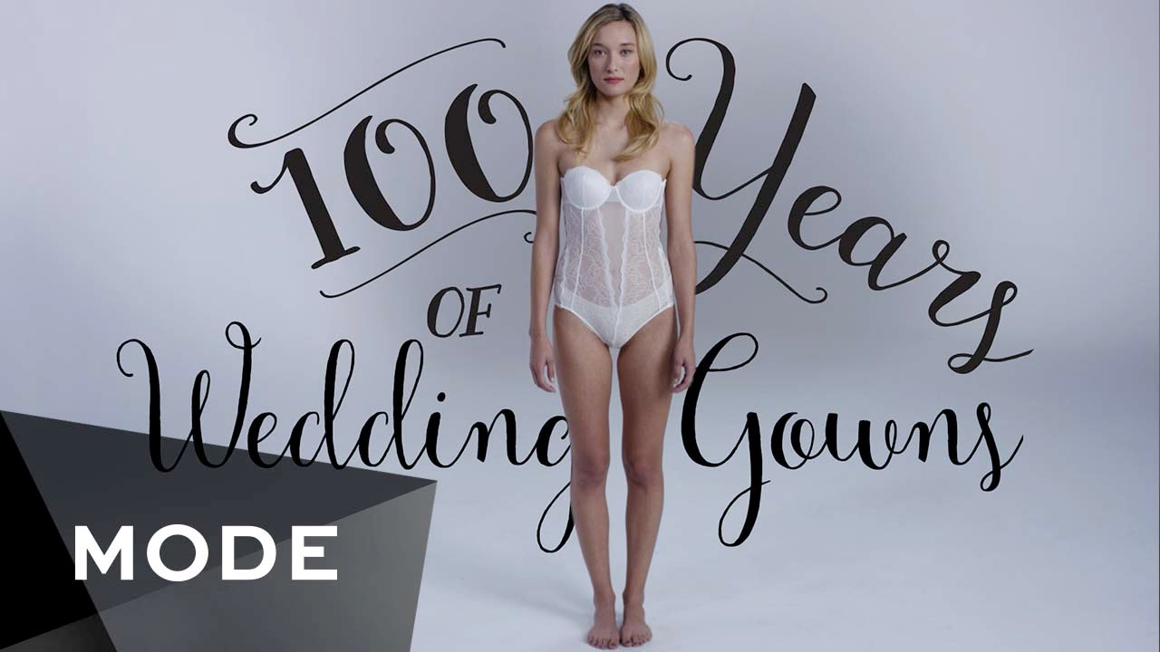 100 Years Of Fashion Wedding Dresses Glam