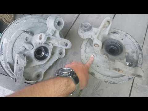 Subaru Свап барабанных тормозов на дисковые отличия тросиков ручника