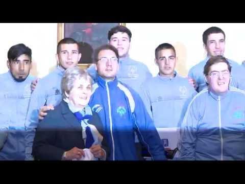 Ceremonia de reconocimiento a deportistas que participaron en olimpíadas especiales