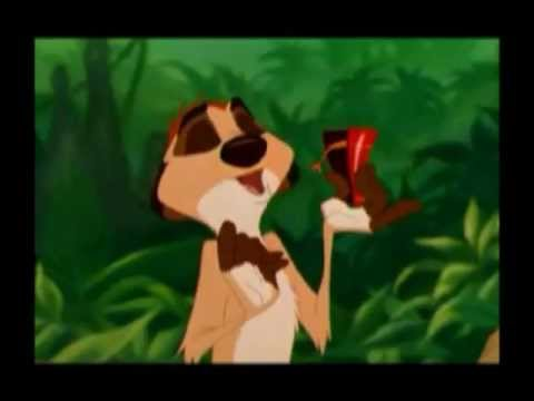 Lion King / Book Of Mormon musical Hasa Diga Eebowai