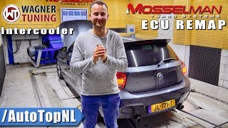 Our BMW M135i gets a MOSSELMAN remap & WAGNER Intercooler by AutoTopNL
