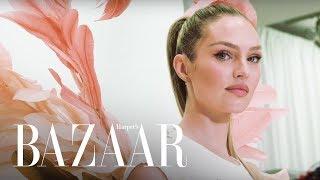 Candice Swanepoel's 2018 Victoria's Secret Fashion Show Fitting | Harper's BAZAAR