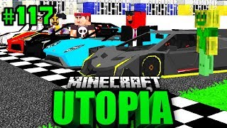 Das ULTIMATIVE AUTORENNEN?! - Minecraft Utopia #117 [Deutsch/HD]