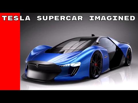 Tesla Supercar Imagined