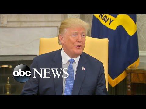 Trump sounds off on Russia investigation, Iran and Korean peninsula