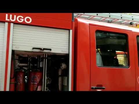 Los bomberos se desplazan a la rúa Concepción Arenal por un incendio