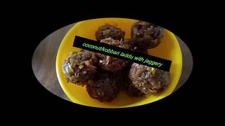 perfect Juicy and Nuts coconut laddu/kobbari laddo with jaggery healthy and tasty.