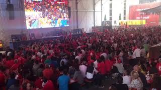 Schweiz - Brasilien 1:1: Emotionen pur in der Vögele Arena in Chur