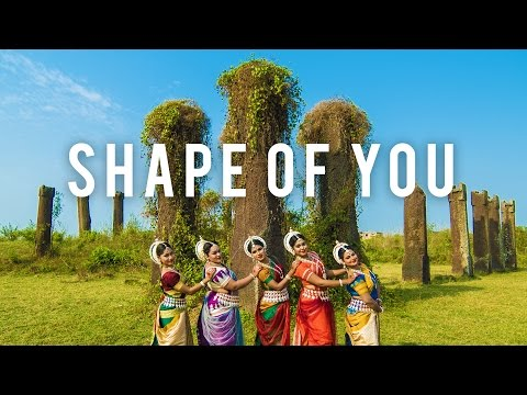 Indian Odissi Classical Dance || Ed Sheeran - Shape Of You