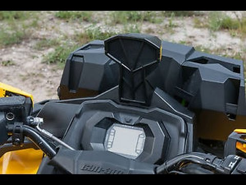 Can Am Outlander 1000 Xmr >> Snorkel kit for can am outlander G2 - YouTube