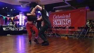 Jakub Jakoubek & Emeline Rochefeuille - WCS Improv - Carnival Swing 2020